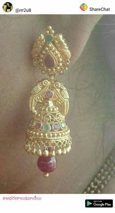 Couple Questions Before Marriage Product Gold Jhumka Earrings, Gold Bridal Earrings, Jewelry Design Earrings, Gold Earrings Designs, Gold Bangles Design, Gold Jewellery Design, Gold Jewelry Simple, Gold Buttalu, Mango Necklace