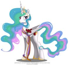 May Festival Pony - Celestia by selinmarsou.deviantart.com on @deviantART