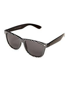 1bbef2dc3f87b Rayban Wayfarer Black   White Glasses Halloween Accessories