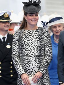 The Duchess of Cambridge has been admitted to hospital and is in the early stages of labour.