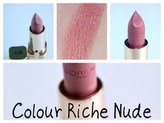 """L'óreal color riche Nude 235 lipstick  A great buy for those who can't find the """"fairest nude"""" color"""