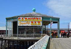 Blackpool North Pier Carousel Bar
