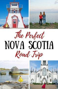 The Perfect Road Trip Itinerary in Nova Scotia (MASSIVE Guide) - Travel tips - Travel tour - travel ideas East Coast Travel, East Coast Road Trip, Road Trip Essentials, Road Trip Hacks, Whistler, Quebec, Nova Scotia Travel, Vancouver, Voyage Canada