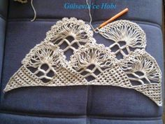HOBİ DÜNYASI: gelin şalı netten alıntı. Barbie Accessories, Beautiful Crochet, Crochet Shawl, Knit Patterns, Tree Branches, Crochet Earrings, Art Pieces, Projects To Try, Knitting