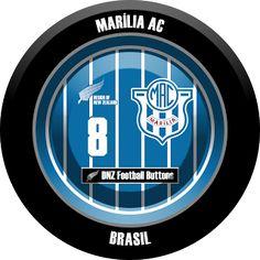 DNZ Football Buttons: Marília AC