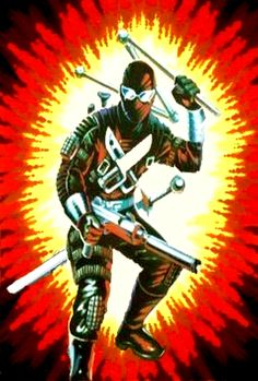 Snake Eyes (Version 3) Snake Eyes Gi Joe, Gi Joe Characters, Cobra Art, Gung Ho, Cartoon Clip, Morning Cartoon, Storm Shadow, Gi Joe Cobra, Retro Toys