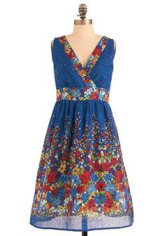 Palette of Petals Dress