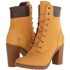 Timberland Earthkeepers Glancy 6 Boot Women's Dress Lace-up Boots ($130) ❤ liked on Polyvore featuring shoes, boots, lace up shoes, front lace up boots, laced up shoes, timberland footwear and lace up boots