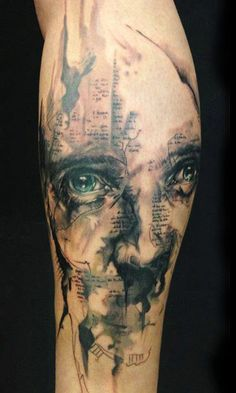 Tattoo Artist - Florian  Karg  - Eyes tattoo
