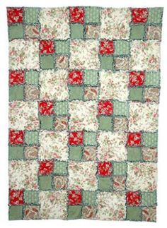 Make a Four-Patch Rag Quilt with This Easy Pattern: Learn How to Make an Easy Rag Quilt