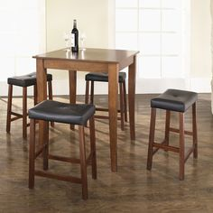 Crosley 5 Piece Counter Height Dining Set & Reviews | Wayfair