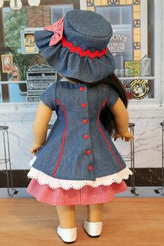 Three Piece Patriotic Outfit by BabiesArtUs on Etsy