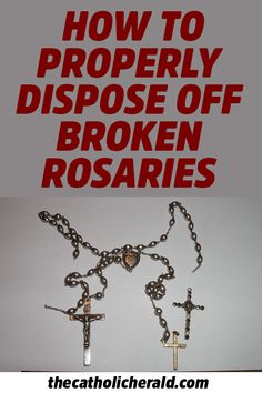 Do You Know How To Properly Dispose off Broken Rosaries and Other Blessed Items? Catholic Prayers, Catholic Answers, Catholic Beliefs, Catholic Kids, Catholic Saints, Roman Catholic, Christianity, Catholic Sacraments, Catholic Herald