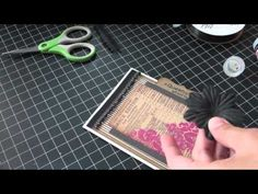 Handmade CARD from start to finish #27 - A queen is not afraid to fail... - YouTube