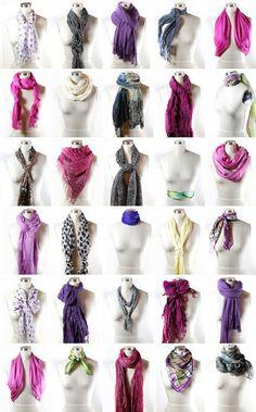 50 Ideas De Formas De Usar Bufandas Y Pañuelos Como Usar Una Bufanda Ropa Estilos De Bufanda