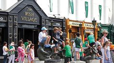 The Irish Village, Dubai. Irish Bar, Bar Designs, World Photo, Savannah Chat, Dubai, Street View, Good Things, Journal, Travel