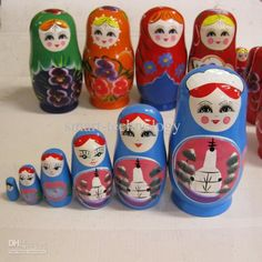 Wholesale Cartoon & Anime & Movies Accessories - Buy Russian Nesting Dolls Matryoshka Doll Toy,Russian Dolls,Wooden Toys,Russian Toys(5pcs),...