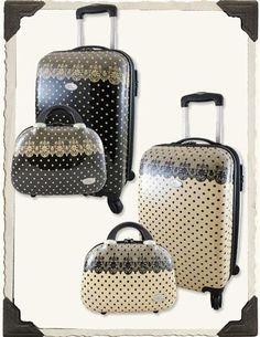 Romantic luggage set