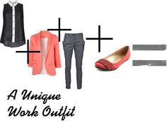 """""""Unique Work Outfit"""" by keelyyeager on Polyvore"""