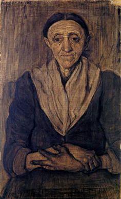 Paula Modersohn-Becker - Sitzende alte Frau