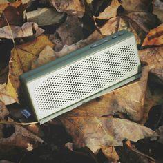 Say hi to autumn with your ROCKBOX FOLD Army   Fresh 'n Rebel   Portable Bluetooth speaker #freshnrebel #rockbox