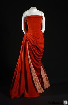 Dress Elsa Schiaparelli, 1955 The Museum at FIT - OMG that dress!