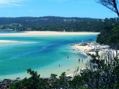 Merimbula, Australia - eeeek going to be here in two weeks! Australia Travel Guide, Australia Trip, Australia Beach, South Coast Nsw, East Coast Road Trip, Land Of Oz, Holiday Places, Bus Travel, Coast Australia