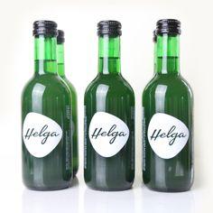 Helga Algenlimonade - 6 x Superfood, Drinks, Bottle, Environmentalism, Lemonade, Feel Better, Packaging, Health, Drinking