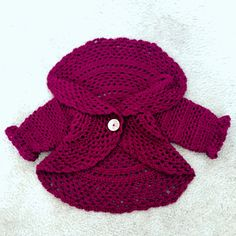 A personal favorite from my Etsy shop https://www.etsy.com/listing/480054359/baby-girl-sweater-circle-cardigan-fall