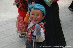 Excited Little Tibetan Boy - Xiahe, China by uncorneredmarket, via Flickr