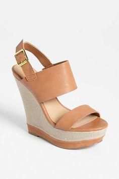 The Wedge Steve Madden Warmthh Wedge Sandals, $79.95; nordstrom.com