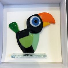 papegøje m. blåt øje