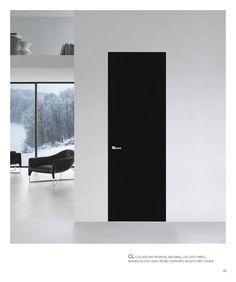 walldoor collezione fashion massima - laccato nero