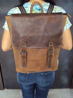 unisex color, two tone leather laptop bag, interest it plz contact me!