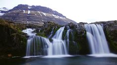 https://flic.kr/p/GbyzeL | Kirkjufellfoss in evening mood | while everyone was trying to get that postcard shot with Kirkjufell mountain in the backdrop, I rather enjoyed looking up and shooting the very mountains where the waterfall is born   National Geographic | BR-Creative | chbustos.com