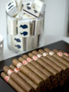 Cigars are a huge trend in weddings and engagement parties.