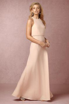 BHLDN Iva Crepe Maxi in  Bridesmaids Bridesmaid Dresses   BHLDN