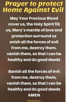 Do You Want Jesus to Protect Your Home Against Evil? Then Pray this Powerful Prayer Now for the Spiritual Protection of Your Home - The Catholic Herald Prayer Topics, Prayer Scriptures, Bible Prayers, Catholic Prayers, Faith Prayer, God Prayer, Power Of Prayer, Prayer Quotes, Bible Niv