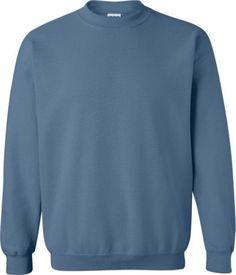 Gildan Heavy Blend Crewneck Sweatshirt. 18000, Men's, Size: 4XL, Blue