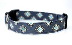 Dog Collar  The Beaumont by CreatureCollars on Etsy, $17.00