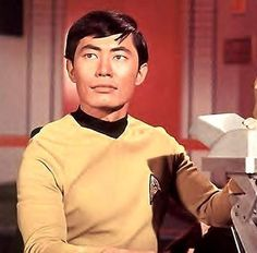 GEORGE TAKEI.  I love this guy!  He's really a funny guy