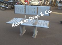 We are one of the best stainless steel Bench manufacturer and suppliers in Noida and Delhi Ncr. Our Stainless steel bench size is 1300mm x 450mm x 450mm with backrest. Stainless Steel Doors, Outdoor Furniture, Outdoor Decor, Bench, Good Things, Delhi Ncr, Chair, Waiting, Public