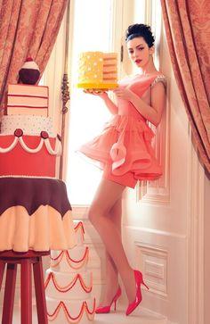 Merve Bolugur prom dress