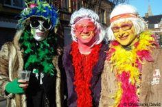 Carnavaliers au Carnaval de Dunkerque, en France