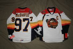 THE HOUSE O' HOCKEY IN MURRYSVILLE, PA. CONNOR McDAVID ERIE OTTERS CCM NEW PREMIER HOCKEY JERSEY OHL 7185 WHITE AWAY