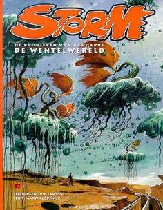 Storm - 17 - De Wentelwereld-Don Lawrence, Martin Lodewijk-boek cover voorzijde