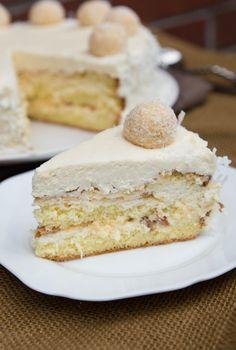 Cake Roll Recipes, Candy Recipes, Dessert Recipes, Ferrero Rocher, Raffaello Cake Recipe, Raffaello Chocolate, Tostadas, Nutella, Food Styling
