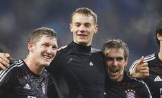 Schweinsteiger, Neuer & Lahm