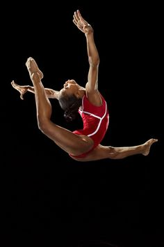 GOING TO BE JUST LIKE HER ONE DAY  Gabby Douglas