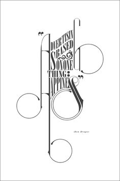 Big Mad-Men fans! Love this quote by Don Draper, amazing typography & composition. #typography